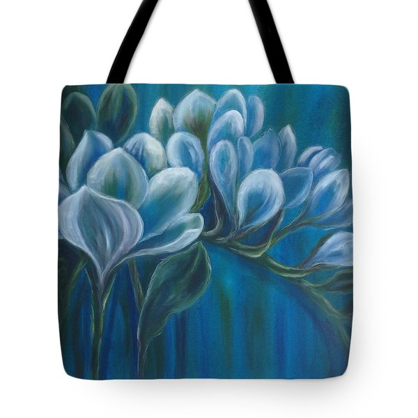 Freesias Tote Bag