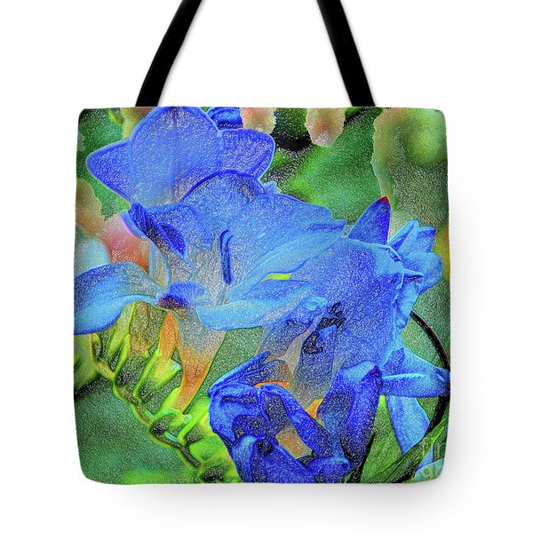 Freesia's Of Beauty Tote Bag