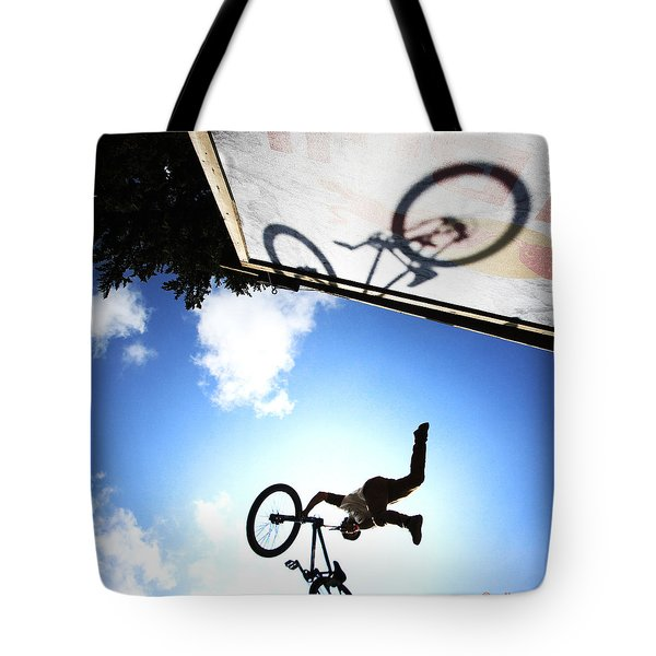 Freestyle Shadows Tote Bag