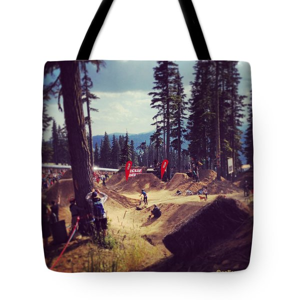 Freestyling Mtb Tote Bag