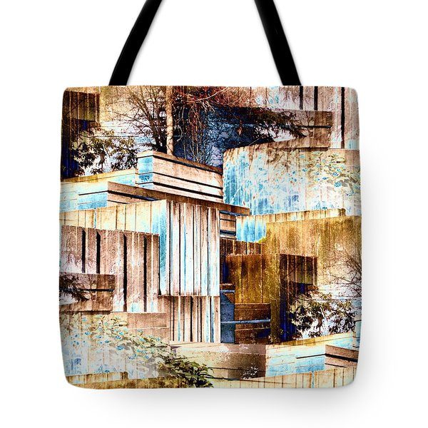 Freeway Park Tote Bag by Tim Allen