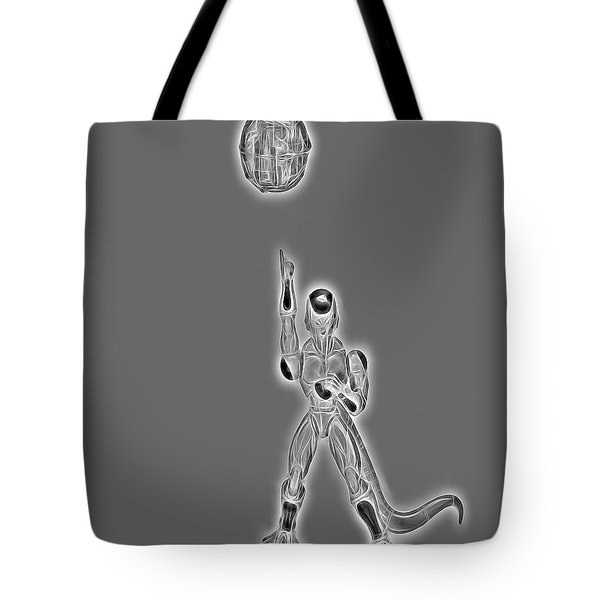 Freeza Black And White Tote Bag