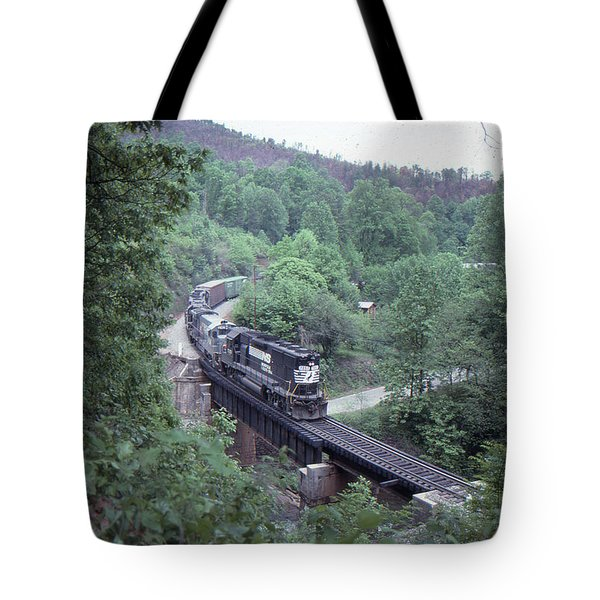 Freight At Mill Creek Tote Bag
