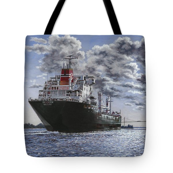 Freighter Inviken Tote Bag