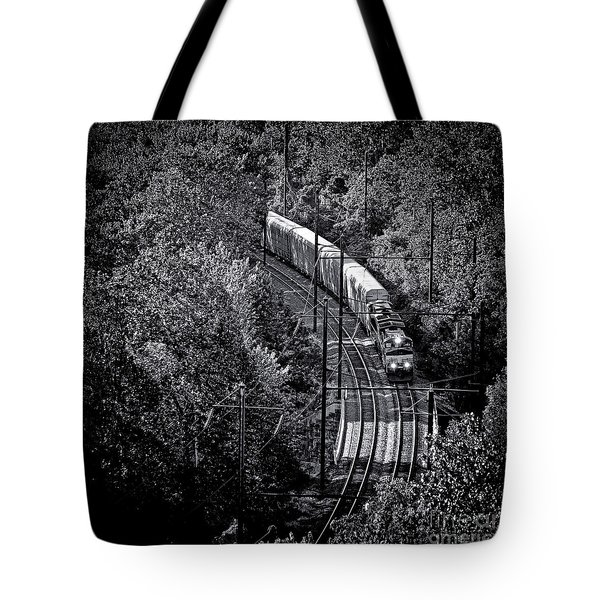 Freighting Away Tote Bag