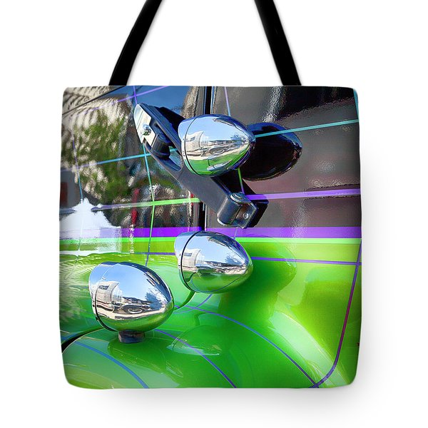 Freightliner Abstract Tote Bag