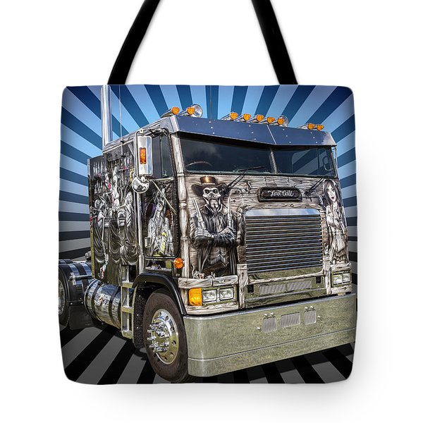 Tote Bag featuring the photograph Freightliner by Keith Hawley