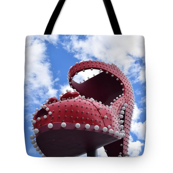 Fremont St. Shoe Tote Bag