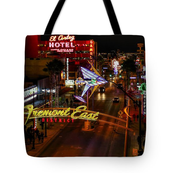 Fremont Street East Tote Bag
