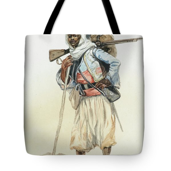 French Algerian Zouave Tote Bag