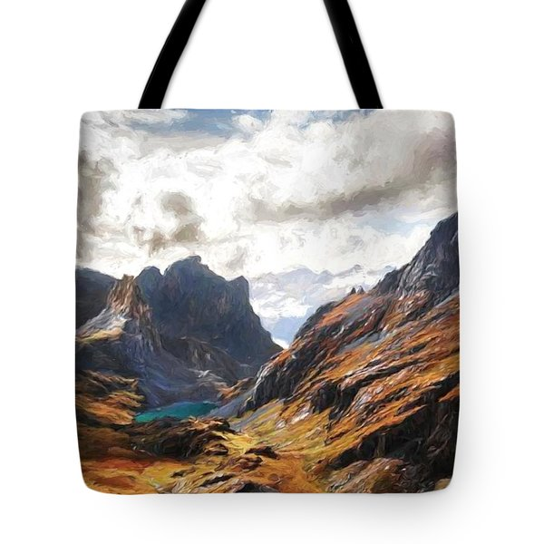 French Alps Tote Bag