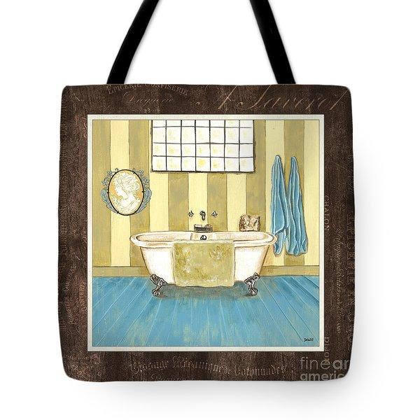 French Bath 2 Tote Bag