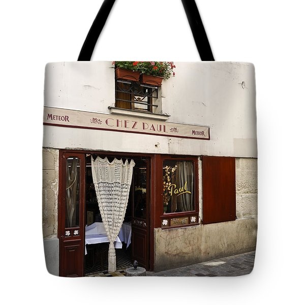 French Bistro Tote Bag