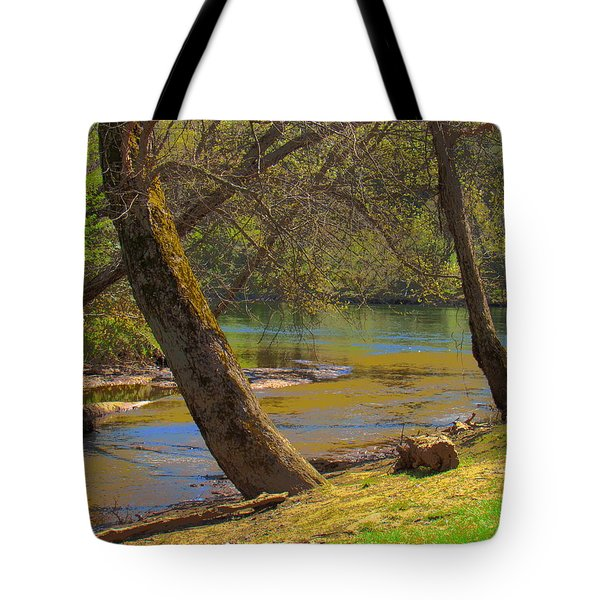 French Broad Tributary Tote Bag