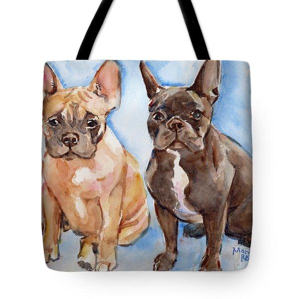 French Bull Dog Tote Bag