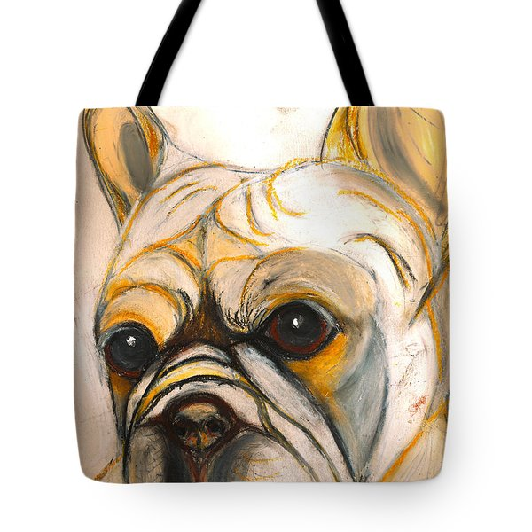 French Bulldog Drawing Tote Bag