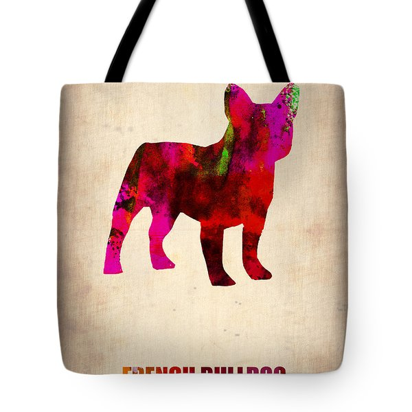 French Bulldog Poster Tote Bag