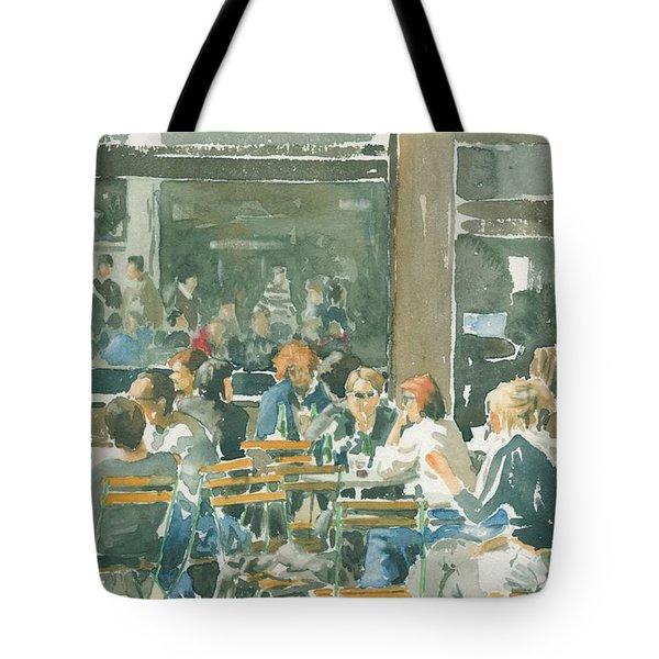French Cafe Scene  Tote Bag by Ian Osborne