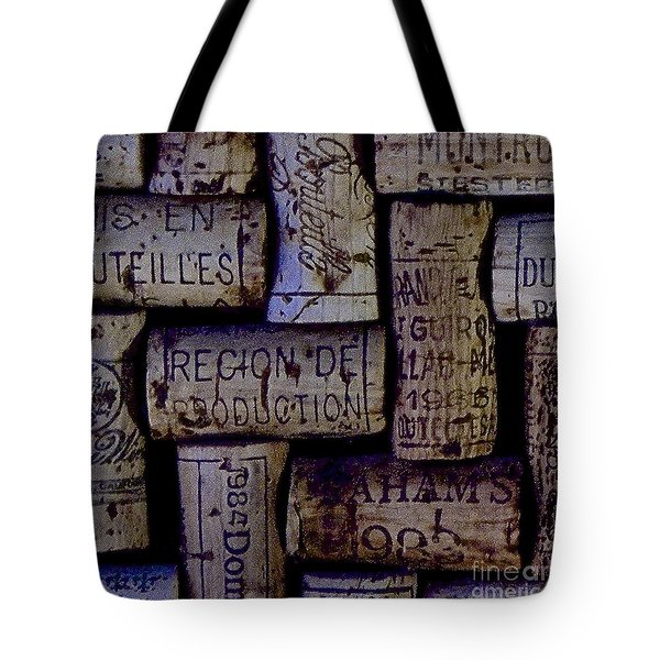 French Corks Tote Bag by Anthony Jones
