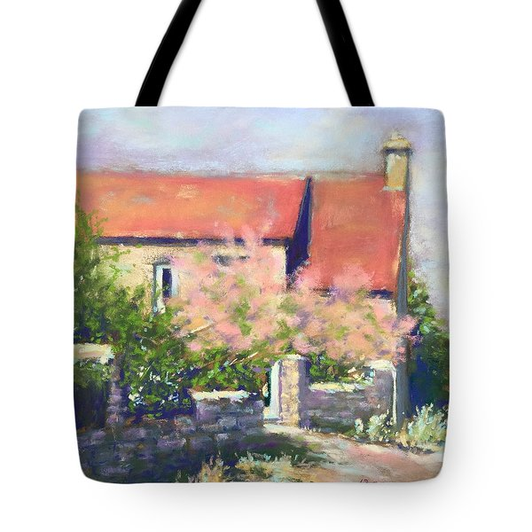 French Cottage Tote Bag by Rebecca Matthews