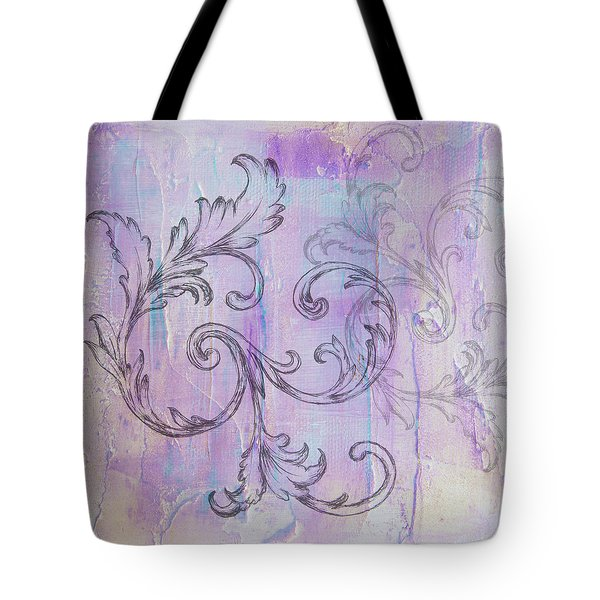 French Country Scroll Tote Bag