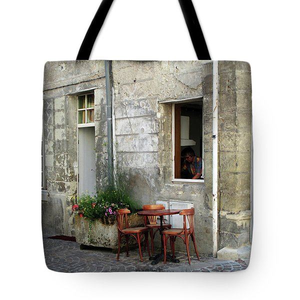 French Countryside Corner Tote Bag