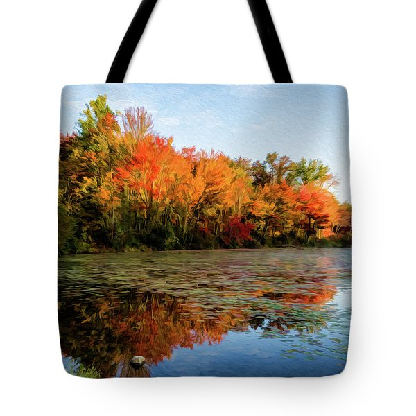 French Creek 15-025 Tote Bag by Scott McAllister
