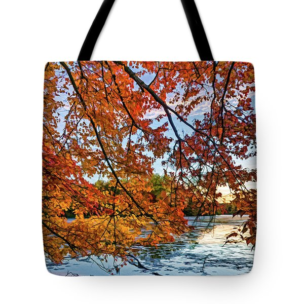 French Creek 15-110 Tote Bag by Scott McAllister