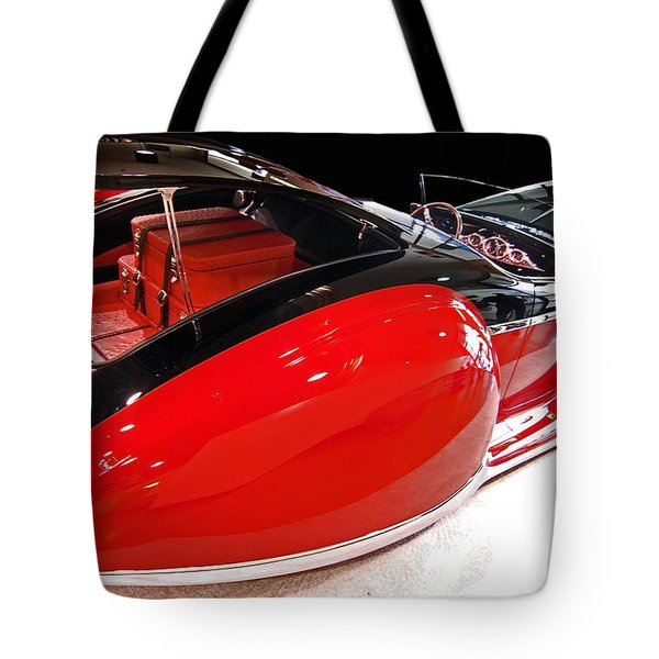 French Deco Tote Bag