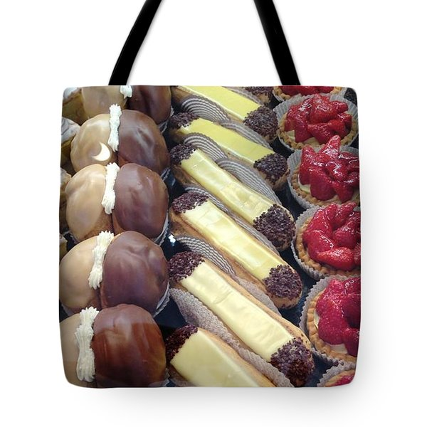 Tote Bag featuring the photograph French Delights by Therese Alcorn