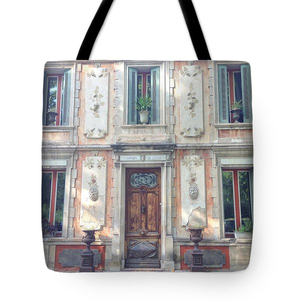 French Door Tote Bag by Catherine Alfidi