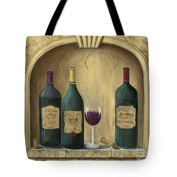 French Estate Wine Collection Tote Bag by Marilyn Dunlap