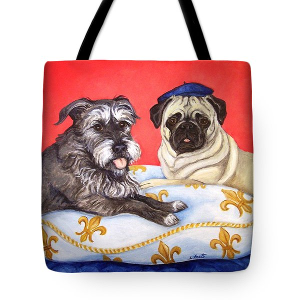 French Friends Tote Bag