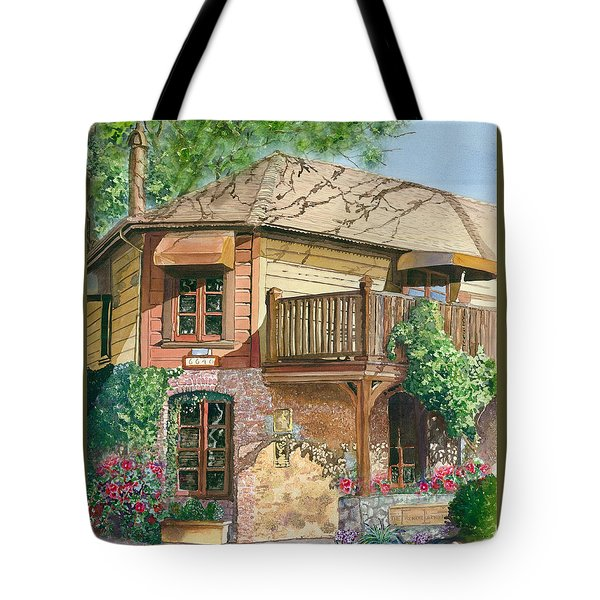 French Laundry Restaurant Tote Bag