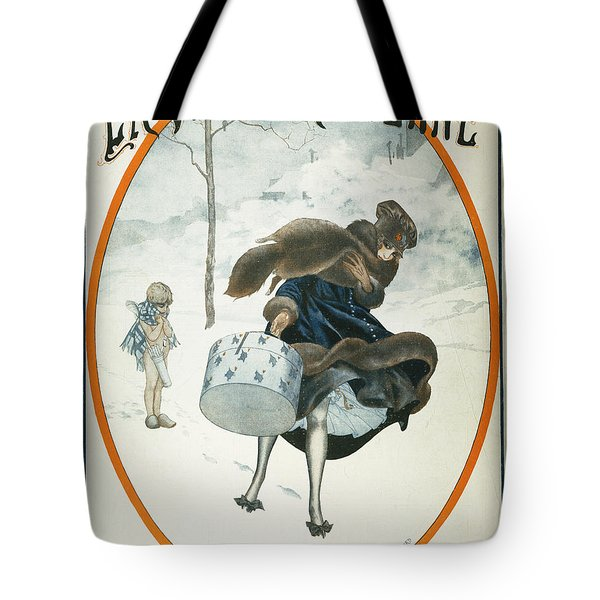 French Magazine Cover Tote Bag by Granger