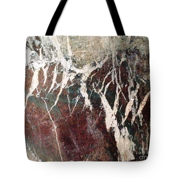 French Marble Tote Bag