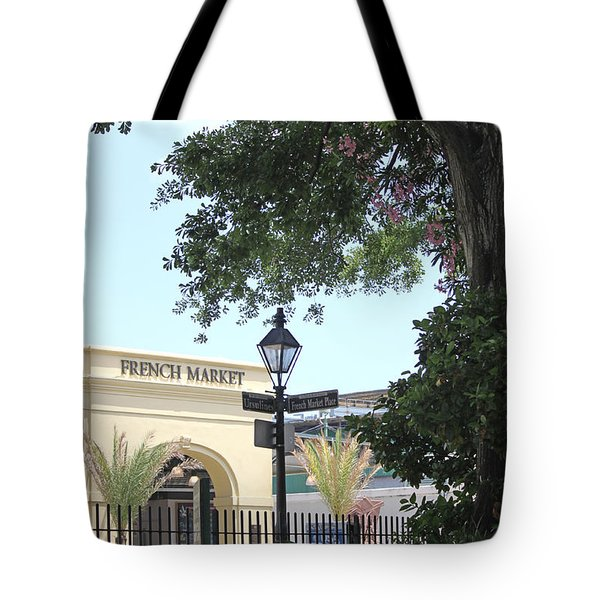 French Market Tote Bag by Todd A Blanchard