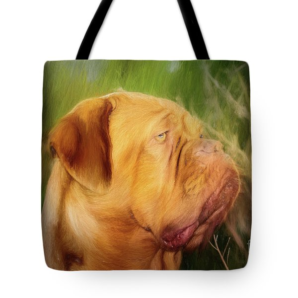 French Mastiff  Tote Bag by Eleanor Abramson