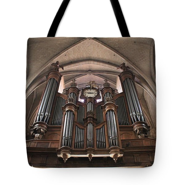 French Organ Tote Bag by Christin Brodie