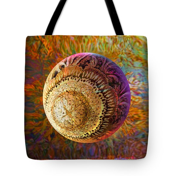Tote Bag featuring the painting French Ornamental  by Robin Moline