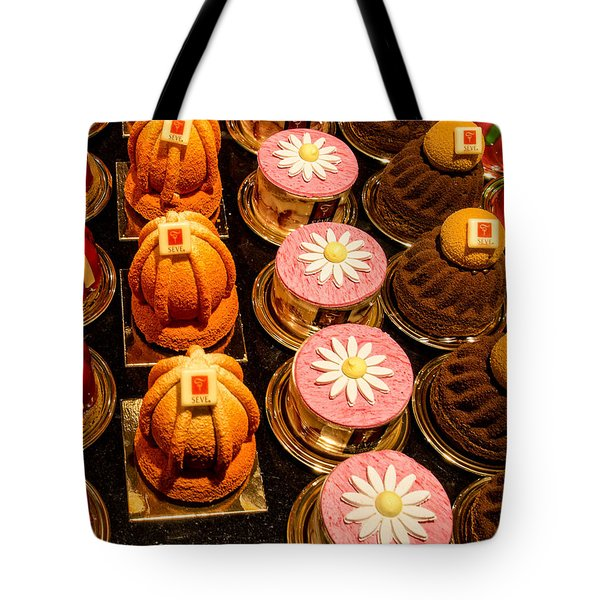 French Pastries In Lyon Tote Bag