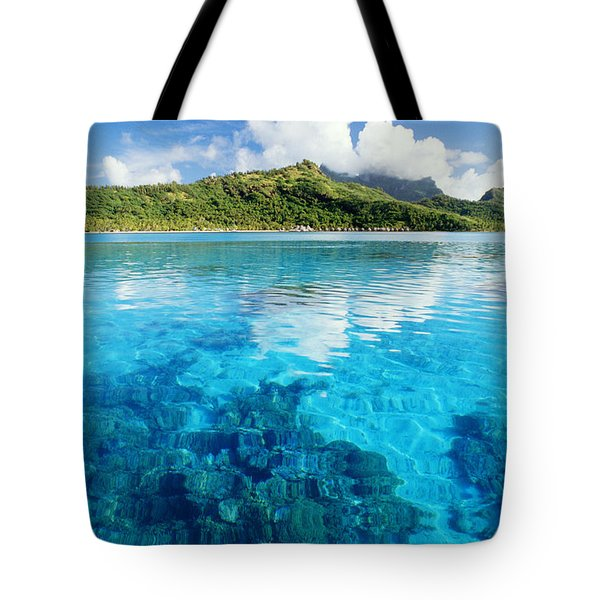 French Polynesia, View Tote Bag by Joe Carini - Printscapes