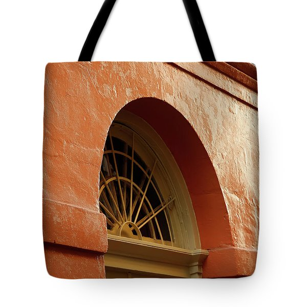 Tote Bag featuring the photograph French Quarter Arches by KG Thienemann