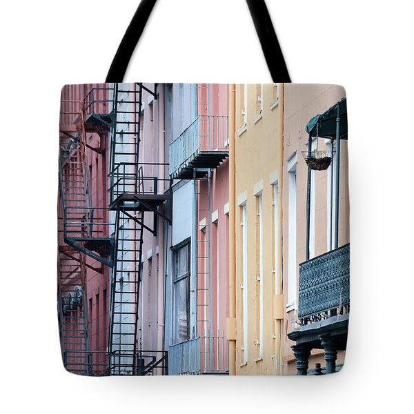 French Quarter Colors Tote Bag