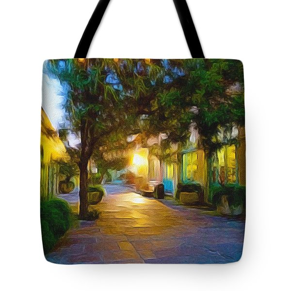 French Quarter Tote Bag by Paul  Wilford