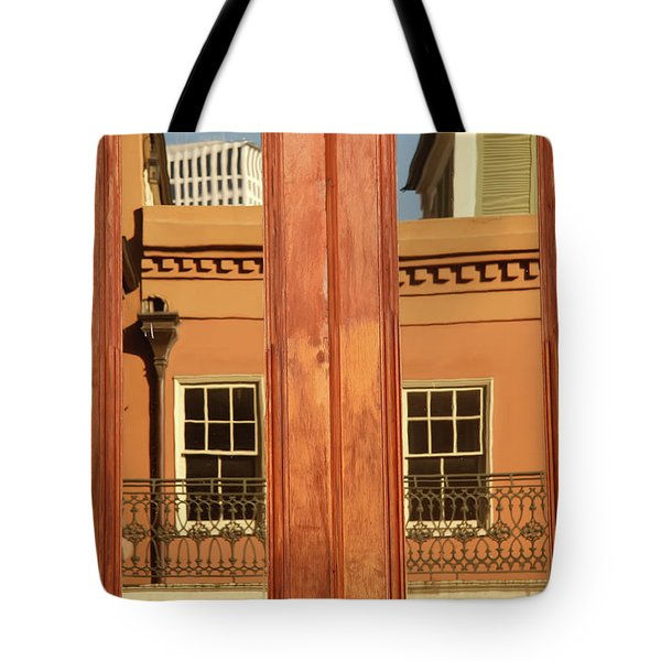 French Quarter Reflection Tote Bag