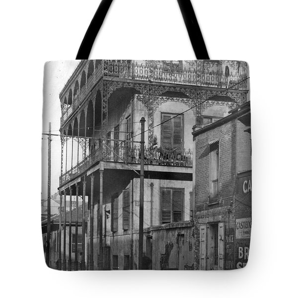 Dauphine St Residence Tote Bag
