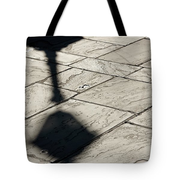 Tote Bag featuring the photograph French Quarter Shadow by KG Thienemann