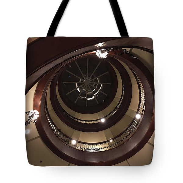 French Quarter Spiral Tote Bag