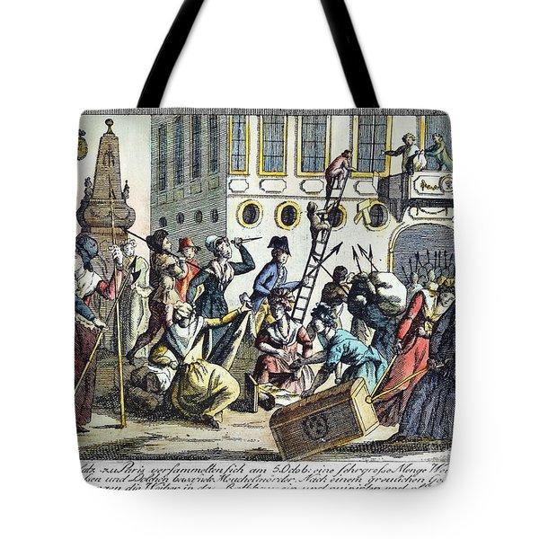 French Revolution, 1789 Tote Bag by Granger